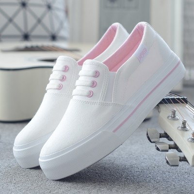 A summer white canvas shoes female Korean Boho white shoes shoes casual shoes shoes all-match students