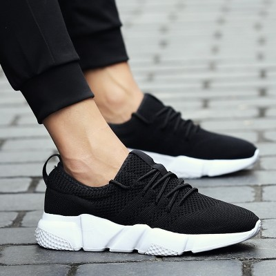 the new trend of Korean male shoes all-match sports casual shoes men's shoes breathable shoes in summer