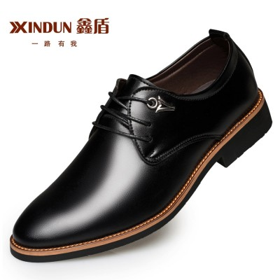 The  men's shoes, men's shoes black leather new summer dress British business casual shoes men Chao pointed