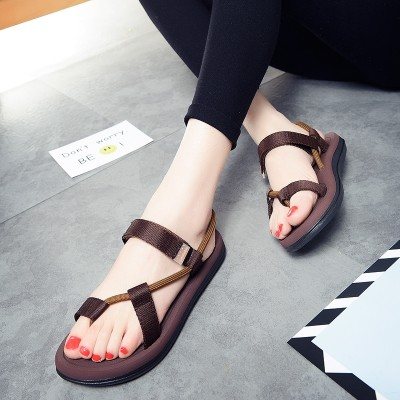 summer new lovers all-match flip flops female flat sandals Korean fashion sandals slippers