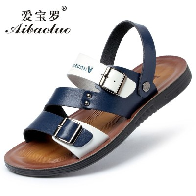 Summer sandals, men's slippers, men's anti-skid flip flops, Korean slippers, men's casual sandals, beach cool mop