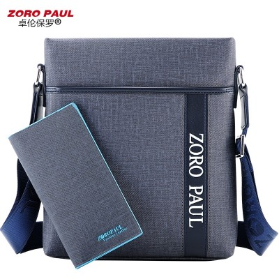 Zhuolun Paul bag business casual shoulder bag man SATCHEL BAG BAG BAG BAG Korean men tide