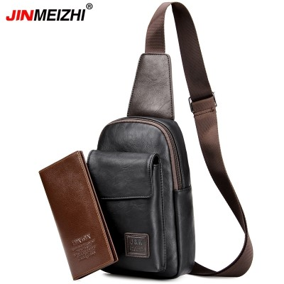 Men's bags, new Korean version, sports bike packs, chest wraps, outdoor shoulder bags, men's breast bags, small bags of tide