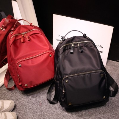Oxford female Korean lady backpack  new Nylon Backpack summer canvas bags leisure bags all-match tide