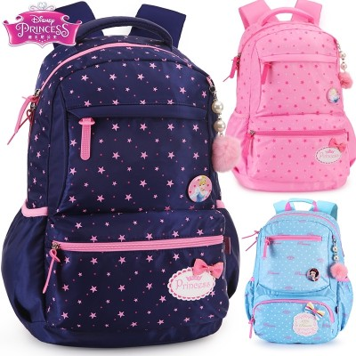 Disney bags, pupils, girls, grade 1-3-6 princesses, 6-12 year old girls, children's leisure backpacks