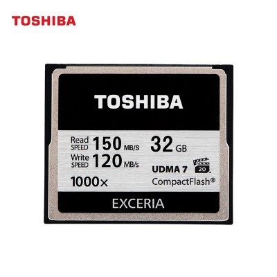 Toshiba CF card 32 g 1000 x 5 d3 D800 SLR camera memory card, memory card at a high speed
