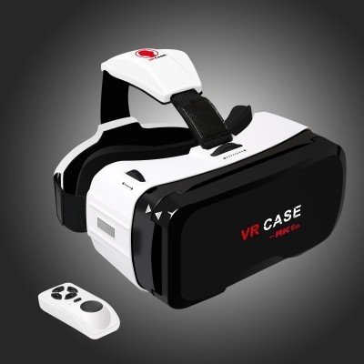 Vr virtual reality head-mounted theater 3 d glasses helmet apple phone box game machine buy + 6 generation