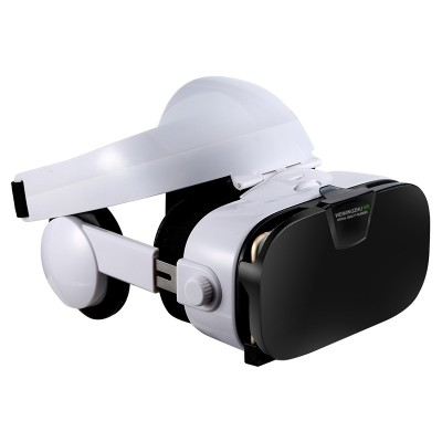 Vr glasses 3 d virtual reality goggles playable game all-in-one cinema hd head-mounted helmet box