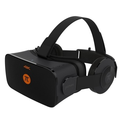 KVR PiMax pettitte 4 glasses 3 d virtual reality goggles beyond VR machine helmet computer VR machine