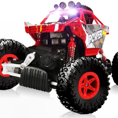 The four-way climbing car remote-controlled car is a four-year-old boy toy car