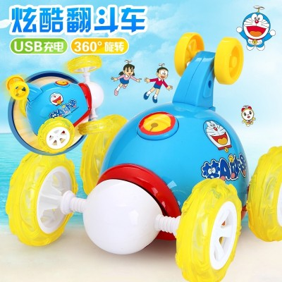 The children can charge and roll the electric car and the electric toy car boy controls the car