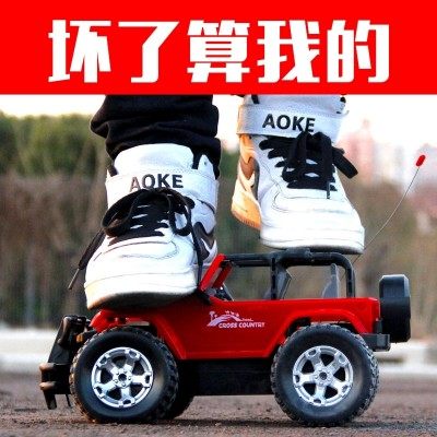 Tong Li, 35 cm, super remote control car, off-road vehicle, big foot car charging, remote control car, car, children toy car, boy
