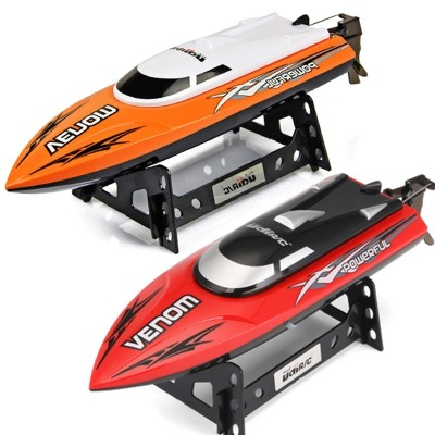 The super model high-speed water and water waterproof rowing boat is a big model for the high-speed ship, which is powered by the ship's toy boat