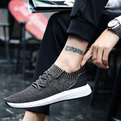 In the summer, the new south Korean trend men's shoes sport casual footwear with low help for men's sneakers