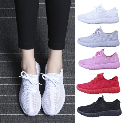 Good summer all-match billion charm female tennis shoes breathable mesh women shoe light set foot leisure lazy sports shoes