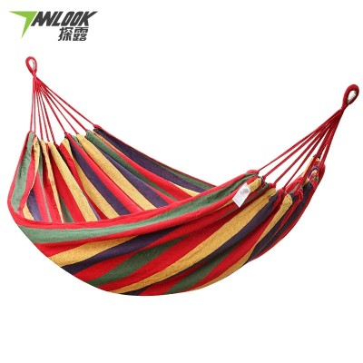 Hammock, outdoor camping, swing room, single double heavy canvas hammock, student dormitory, anti rollover chair
