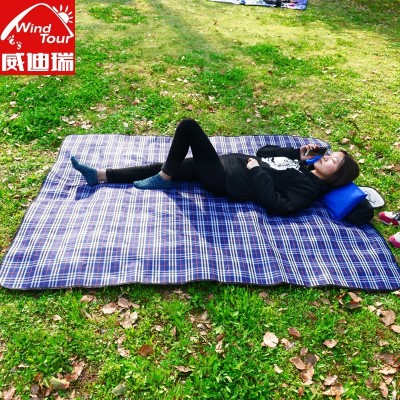 Swiss outdoor picnic mat mat / picnic mats with velvet cushion waterproof tent camping picnic cloth