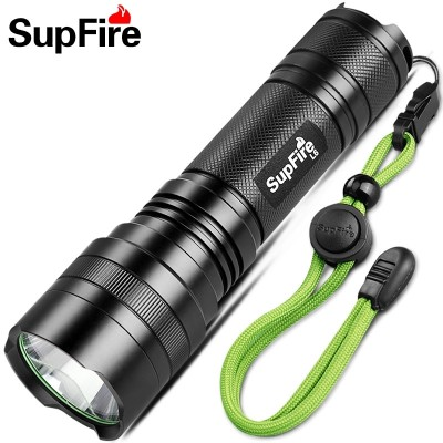 SupFire L6 26650 rechargeable flashlight Percy LED outdoor lamp T6-L2 long-range King