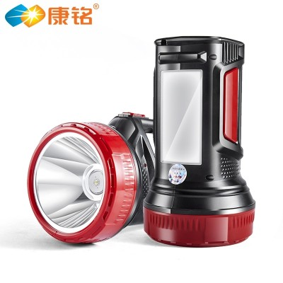 Kang Ming LED rechargeable flashlight remote searchlight outdoor flashlight Lantern Lamp far shooter