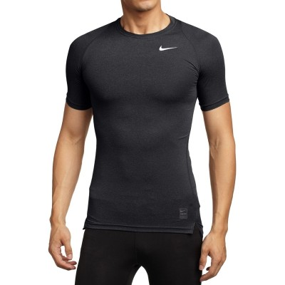 Nike proT shirt tights, men's basketball fitness, running training, DRI-FIT Khan, quick drying, breathable short sleeve