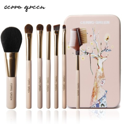Cerroqreen make up brushes, brush sets, make-up tools, a full set of brushes, make-up suits, makeup brushes, Eyeshadow brushes