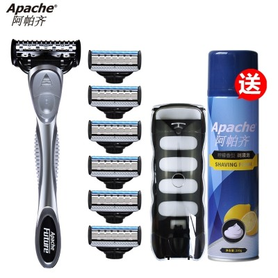 5 layer Apache/ Apaqi manual razor razor razor blade 1 man turret 6 knife head