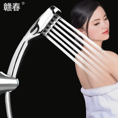 Shower nozzle shower pengtou water heater booster penthouse bathroom shower handheld household flowers drying suit