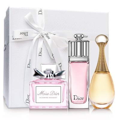 Dior perfume, Q version, star combination, true me + charm + flower three sets