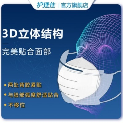Nursing Care disposable mask replacement sheet 3-layer breathable barrier multi-time supply mask replacement sheet spot