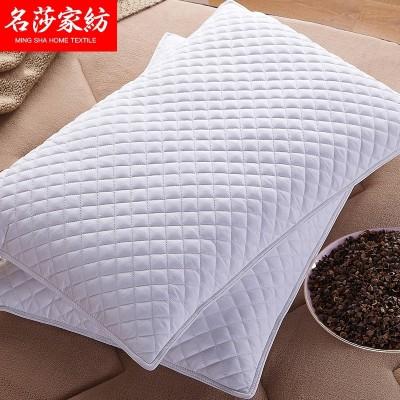 Send cotton Pillowcase Pillow full buckwheat pillow buckwheat buckwheat children of single adult cervical vertebra pillow neck