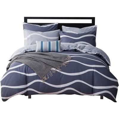 Montagut cotton four piece cotton double bed product suite, simple 1.5m bed, 1.8m bed