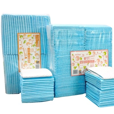 Pet bear dog diapers 100 dog urine pad pet diaper absorbent pad thickening cat diaper deodorant