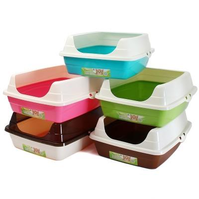 Litter size semi enclosed Cat Toilet bentonite cat litter box cat litter basin supplies sent shovel