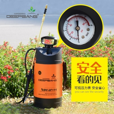 Gardening manual pressure sprayer agricultural agricultural watering watering watering can watering watering car high pressure