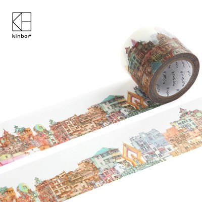 Kinbor's original broadsheet and paper tape can be used to tear up the story of the deco