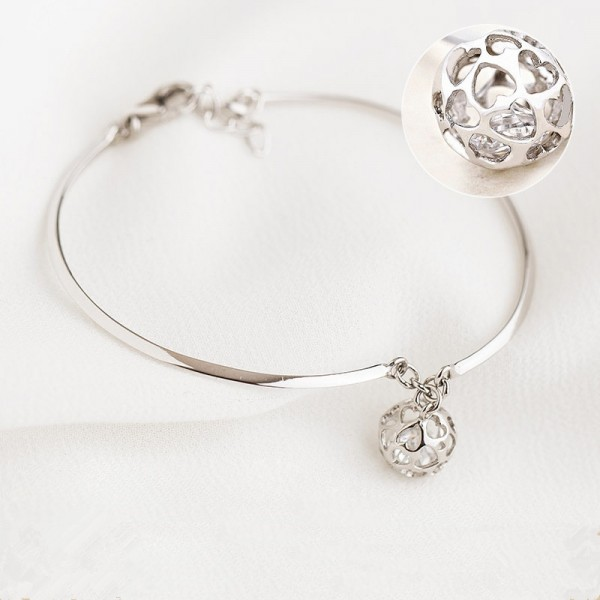 The Heart Of The Journey 925 Silver Bracelet Female Simple All Match