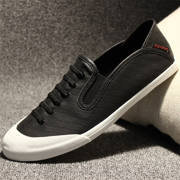 Lively off canvas shoes Adidas Korean