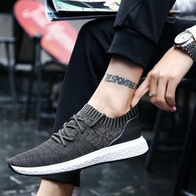 夏季新款韩版潮流男鞋子运动休闲鞋低帮帆布鞋男士透气板鞋男潮鞋