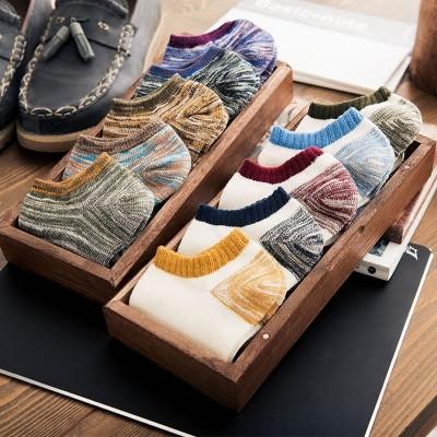 Sokker, menns sommer, tynne, lave, korte sokker, svette, deodorant, sokker, bomull, sommer, grunne munn, usynlige båtsokker