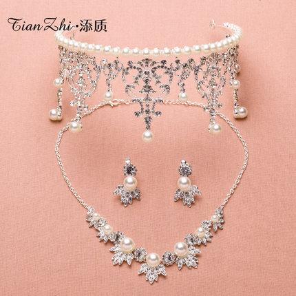 Wedding Tiara, Korean princess, big crown, bride, three